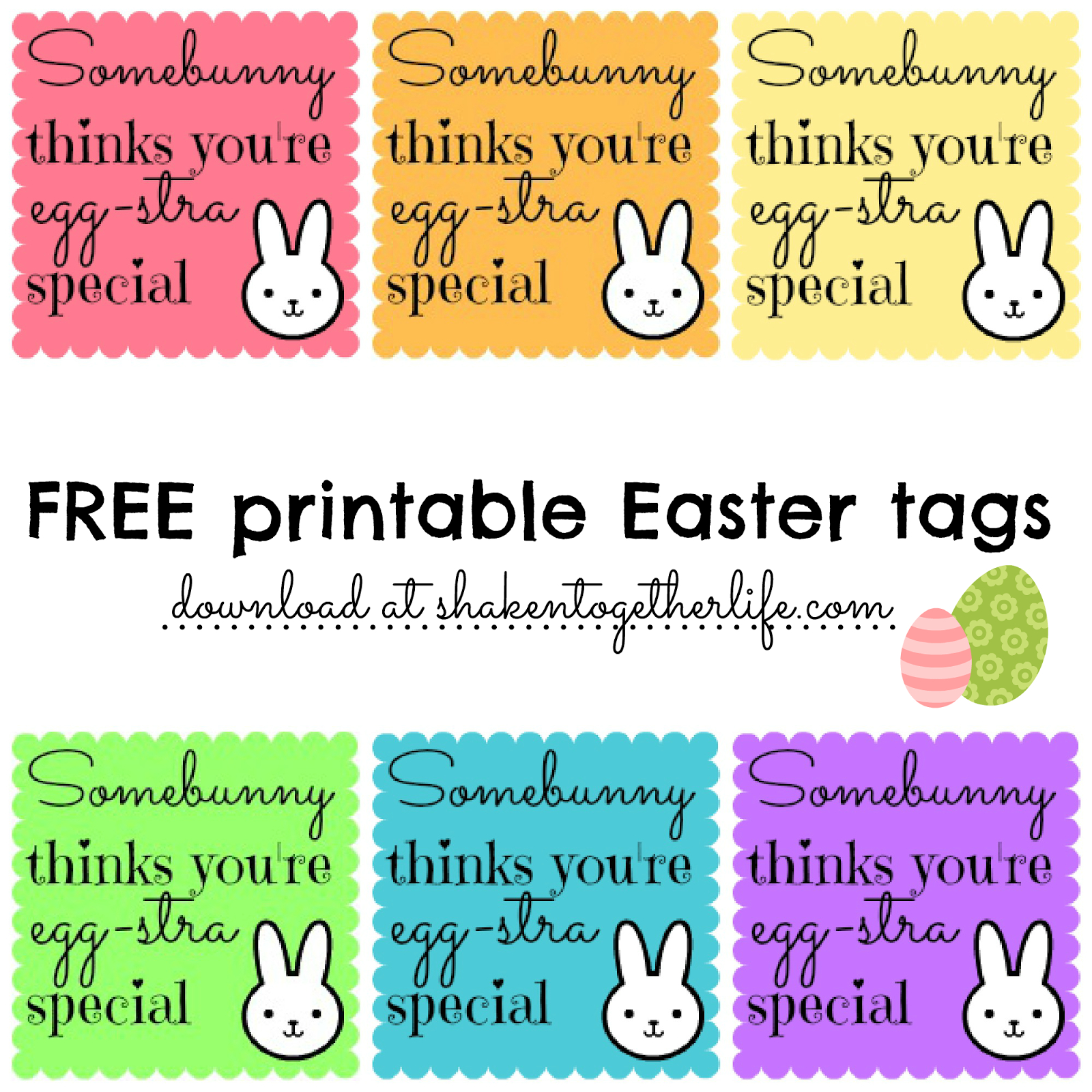 Free Easter Gift Tags Printables – Hd Easter Images - Free Printable Easter Tags