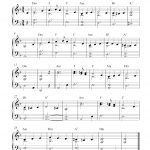 Free Easy Christmas Piano Sheet Music | What Child Is This?   Christmas Piano Sheet Music Easy Free Printable