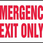 Free Emergency Exit Signs, Download Free Clip Art, Free Clip Art On   Free Printable Emergency Exit Only Signs