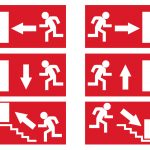 Free Emergency Exit Signs Vector   Download Free Vector Art, Stock   Free Printable Emergency Exit Only Signs