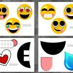 Free Emoji Printable Birthday Greetings   14.7.ybonlineacess.de •   Free Printable Emoji Faces