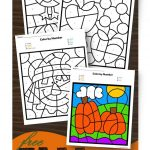 Free Fall Colornumber | K Math | Pinterest | Kindergarten   Free Printable Fall Math Worksheets