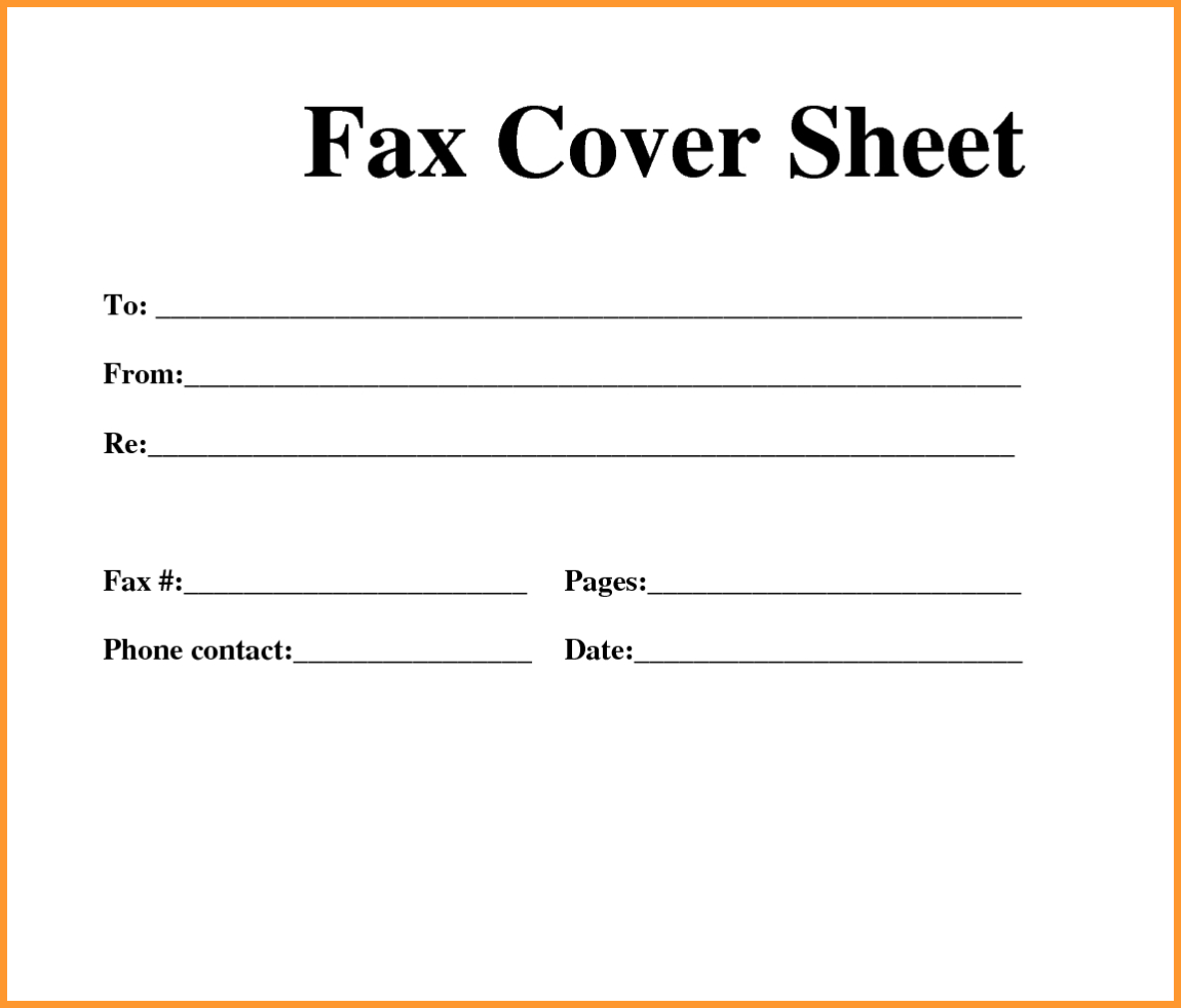 Free]^^ Fax Cover Sheet Template - Free Printable Fax Cover Sheet Pdf