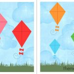 Free File Folder Game For Preschoolers: Kites!   The Measured Mom   Free Printable Folder Games