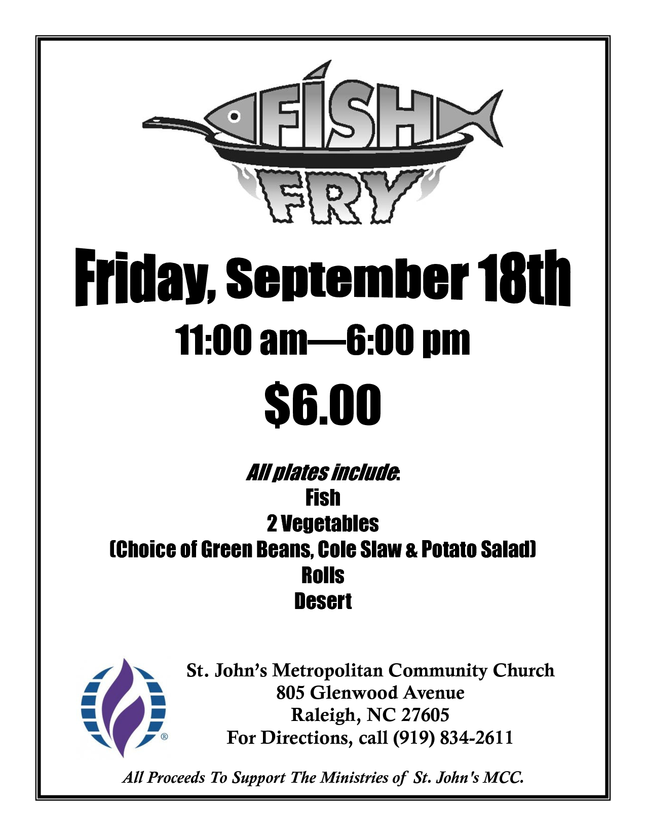 Free Fish-Fry Flyer Templates | Fish Fry Poster | Fish Fry | Fried - Free Printable Flyers For Church