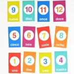 Free Flashcards For Counting In Spanish | Spanish Classroom   Free Printable Spanish Verb Flashcards