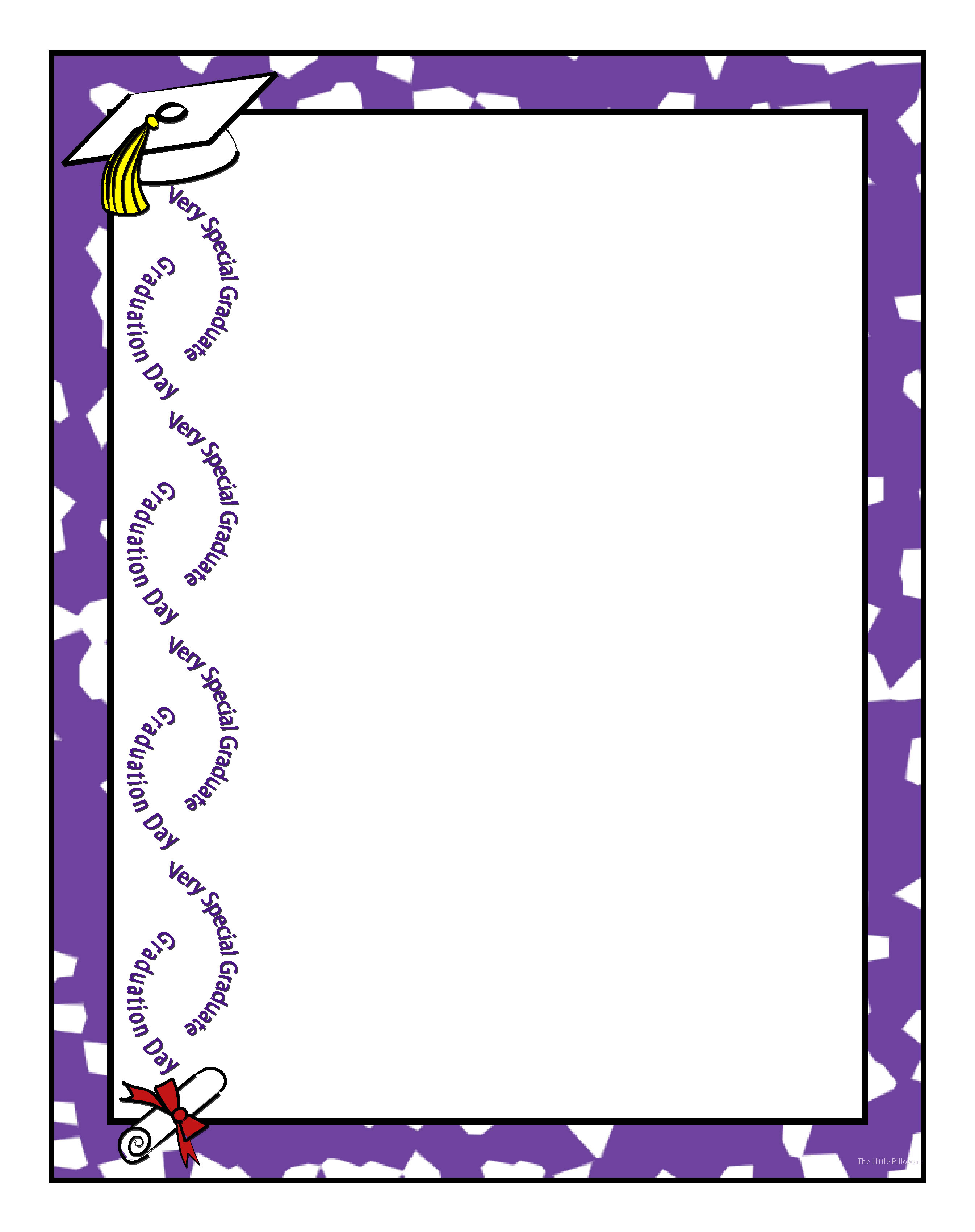 Free Free Graduation Borders, Download Free Clip Art, Free Clip Art - Free Printable Borders For Scrapbooking