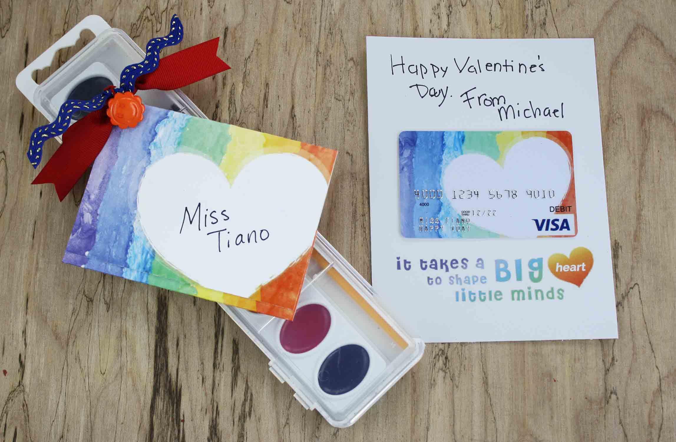 Free Gift Card Printable - Teacher Valentine Gift   Giftcards - Free Printable Teacher's Day Greeting Cards