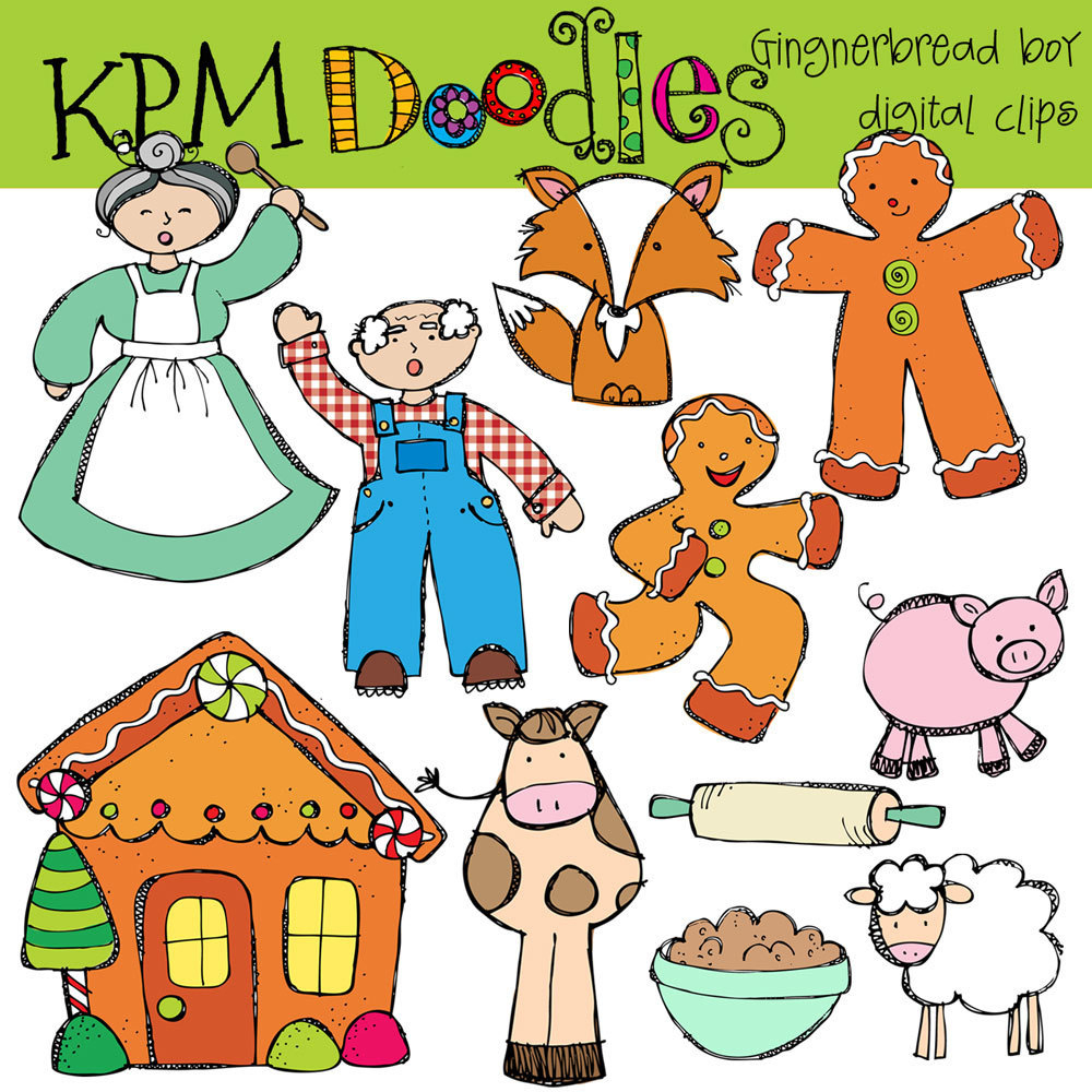Free Gingerbread Man Cliparts, Download Free Clip Art, Free Clip Art - Free Printable Version Of The Gingerbread Man Story