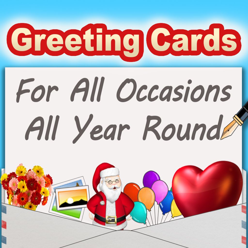 Free Greeting Cards For Iphone & Ipad - Greeting Cards App - Free Printable Greeting Cards For All Occasions