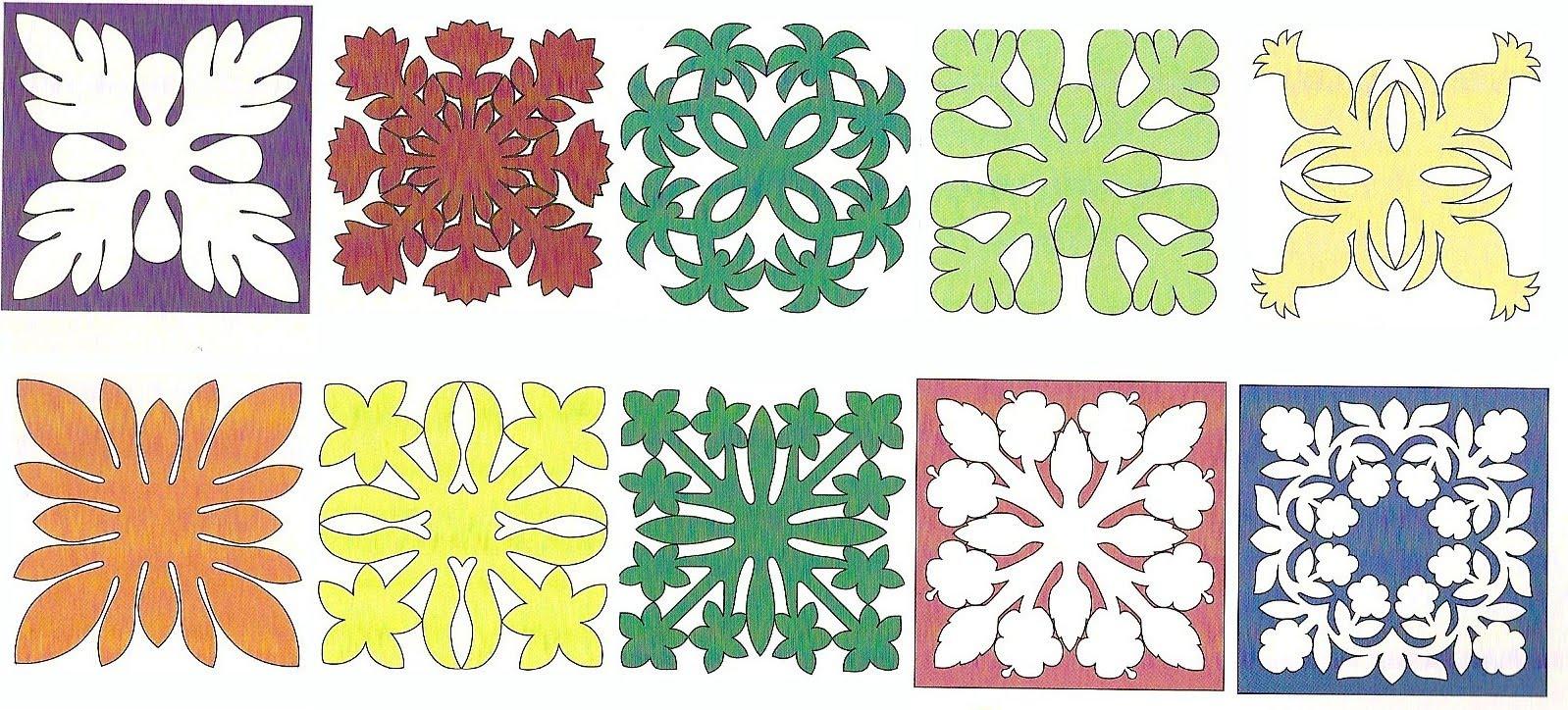 Free Hawaiian Quilt Pattern | Patterns Gallery - Free Printable Hawaiian Quilt Patterns