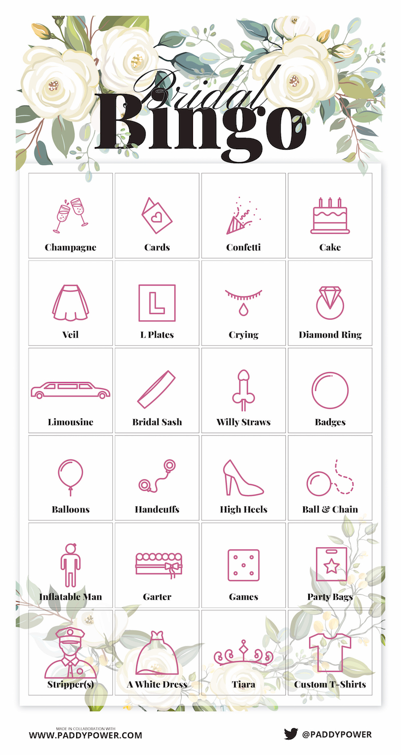 Free Hen Party Games To Print Off And Play Now   Wedding Ideas Mag - Free Printable Tea Party Games