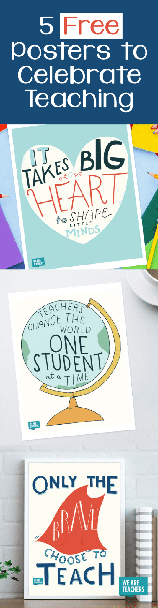 Free Inspirational Teaching Posters To Save And Print - Free Printable Educational Posters