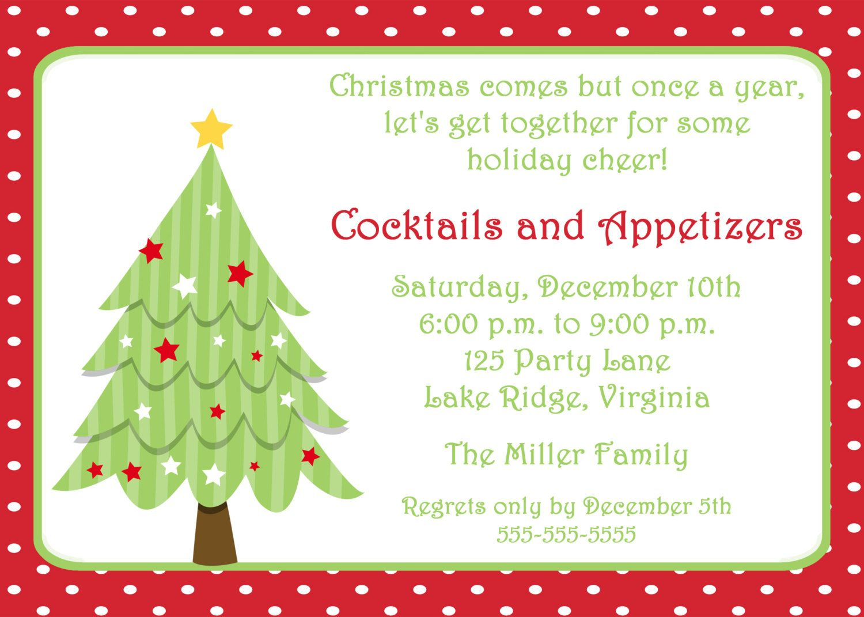 Free Invitations Templates Free   Free Christmas Invitation - Free Printable Christmas Invitations