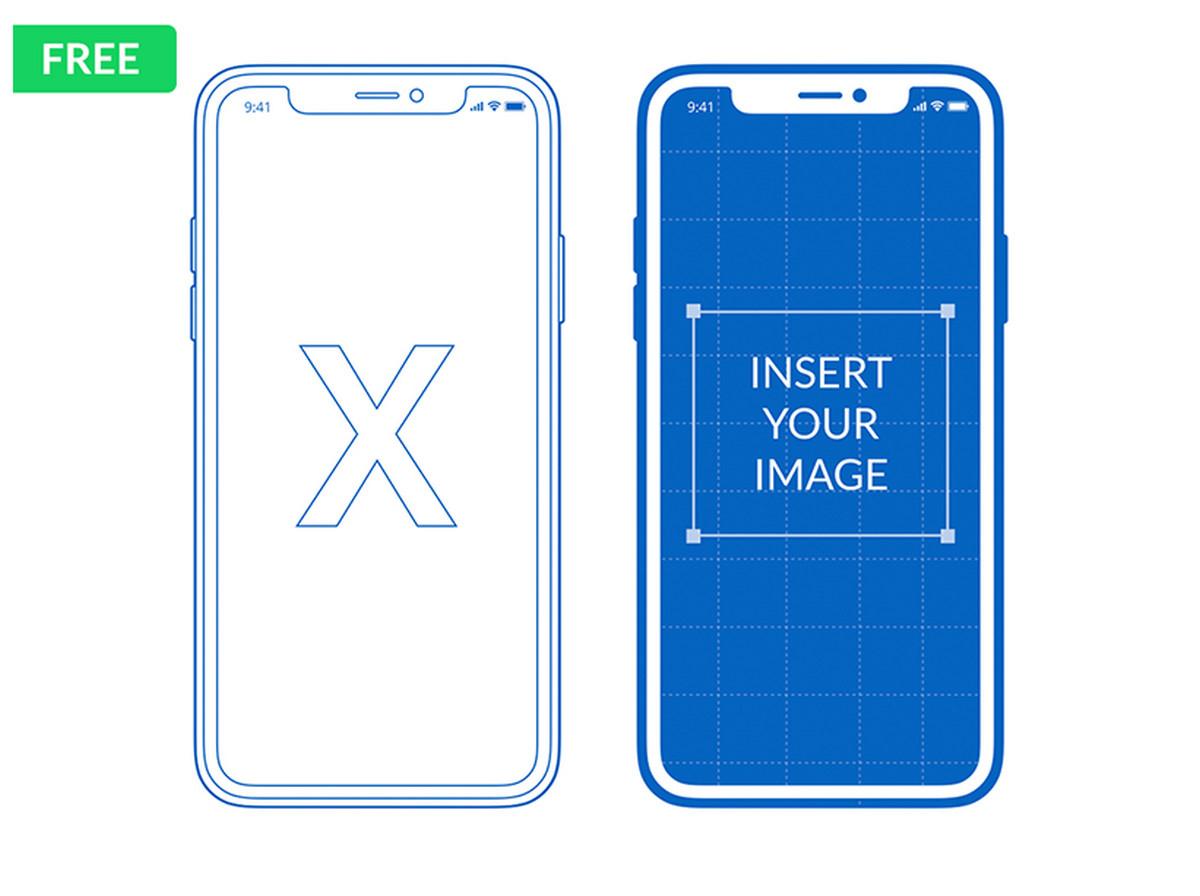 Free Iphone X, Xs, Xr Mockups (Psd, Sketch, Ai, Adobe Xd) - Designmodo - Free Printable Iphone Skins
