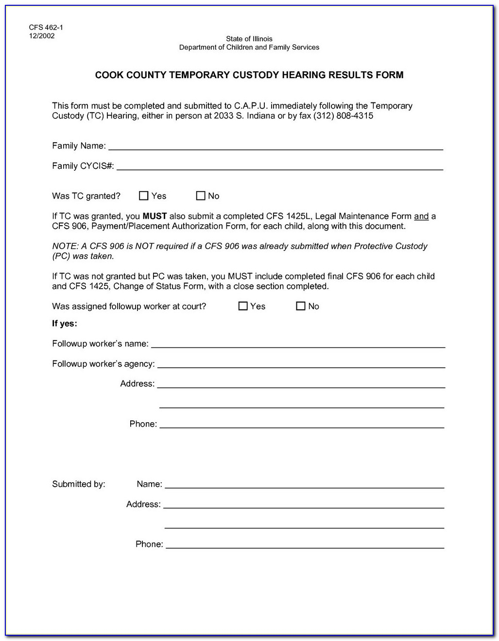 Free Legal Forms For Temporary Child Custody - Form : Resume - Free Printable Child Custody Forms