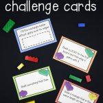 Free Lego Challenge Printable Stem Activities | Learning & Education   Free Printable Stem Activities
