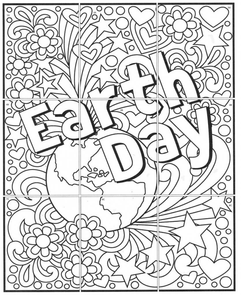 Free! Mini Earth Day Mural · Art Projects For Kids With Regard To - Free Printable Murals