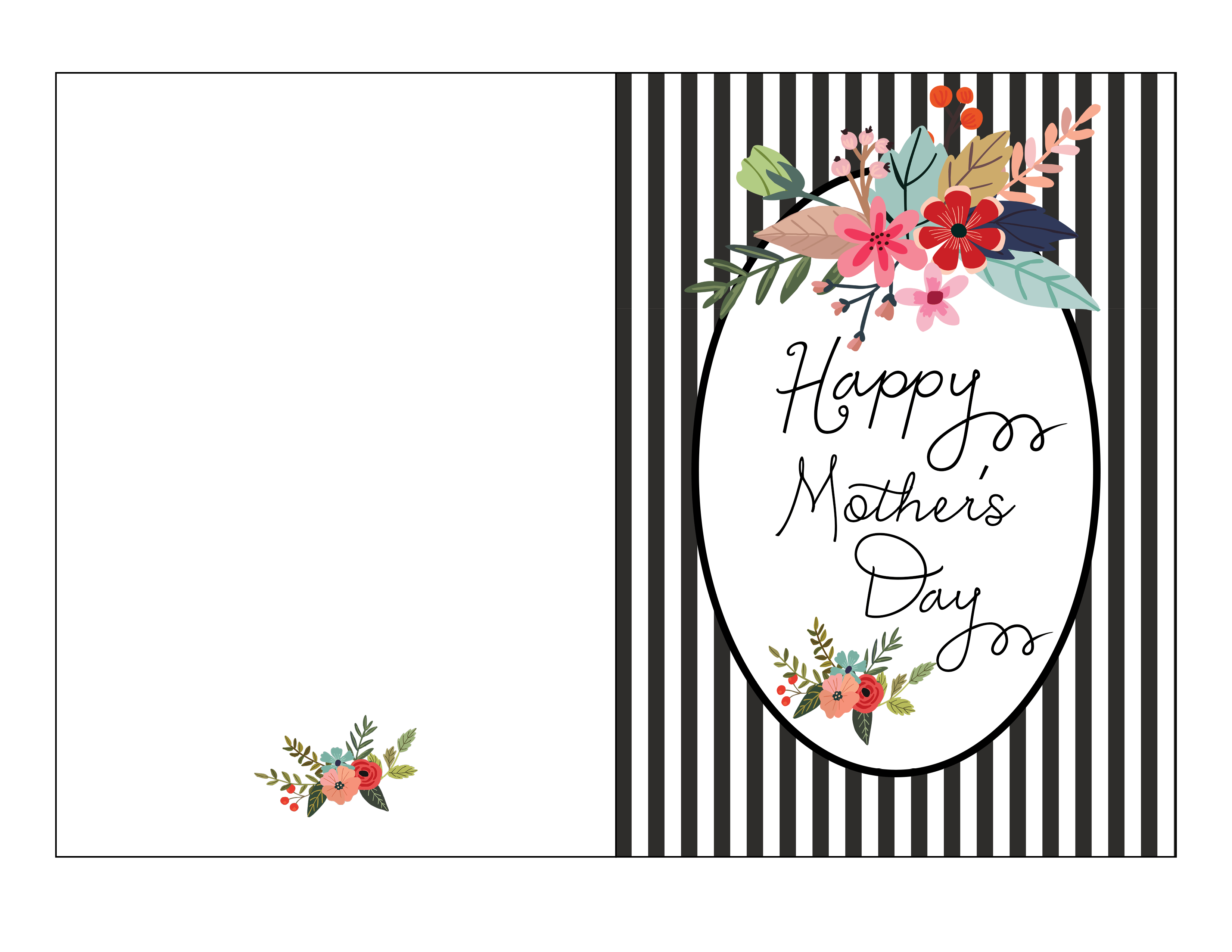 Free Mother's Day Card Printable - Fab Fatale - Free Printable Mothers Day Cards