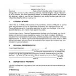 Free North Carolina Last Will And Testament Template   Pdf | Word   Free Printable Legal Documents Forms