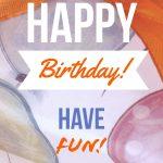 Free Online Card Maker: Create Custom Greeting Cards | Adobe Spark   Customized Birthday Cards Free Printable