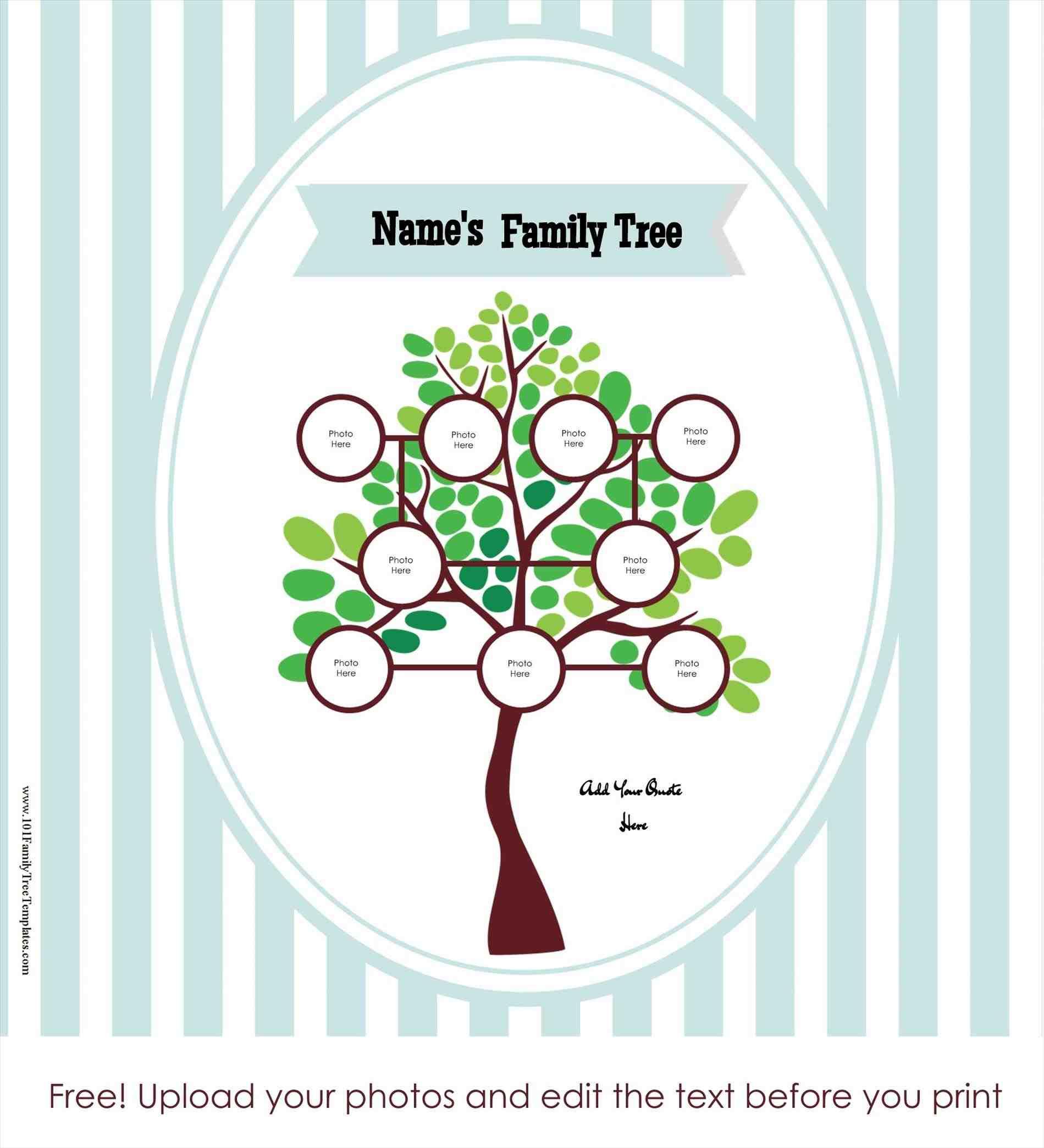 Free-Online-Family-Tree-Template-Tree-Maker-Templates - Family Tree Maker Free Printable