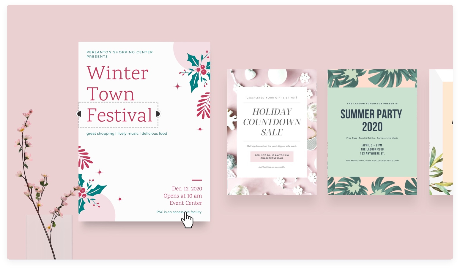 Free Online Flyer Maker: Design Custom Flyers With Canva - About Canva - Create Free Printable Flyer