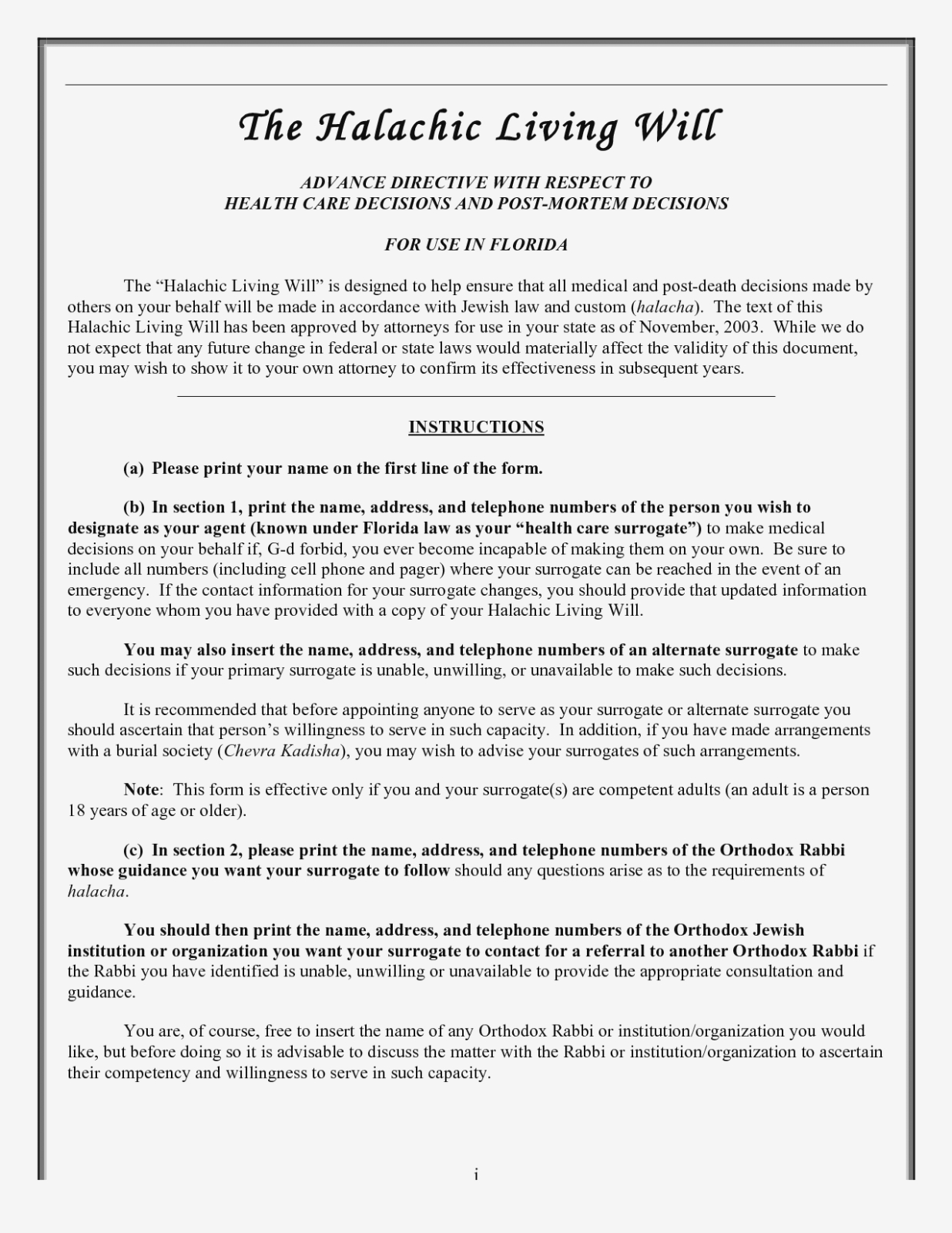 Free Online Will Forms To Print Is So | Form Information - Free Online Printable Living Wills