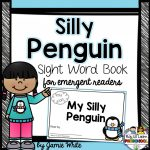 Free Penguin Emergent Reader Book   Free Printable Penguin Books