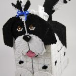Free Plastic Canvas Tissue Box Patterns | Plastic Canvas Shih Tzu   Printable Plastic Canvas Patterns Free Online