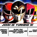 Free Power Rangers Birthday Invitation | Life's A Party   Free Printable Power Ranger Birthday Invitations