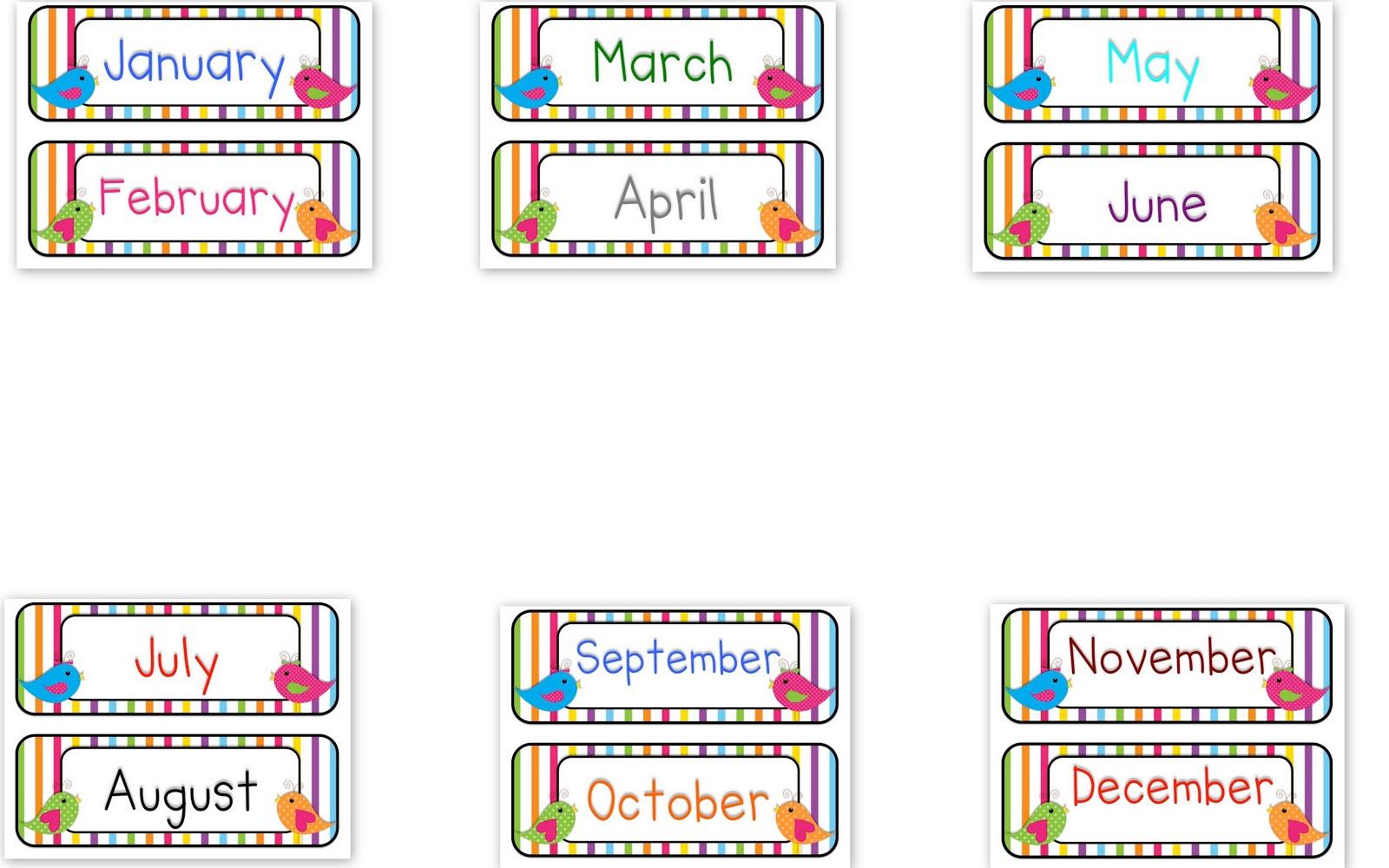 Free Preschool Cliparts Printables, Download Free Clip Art, Free - Free Printable Clipart For August