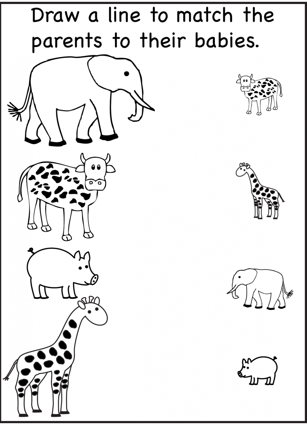 Free Printable Activity Sheets – With Activities For Preschoolers - Free Printable Games For Toddlers