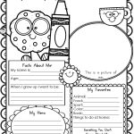 Free Printable All About Me Worksheet   Modern Homeschool Family   Free Printable All About Me Worksheet