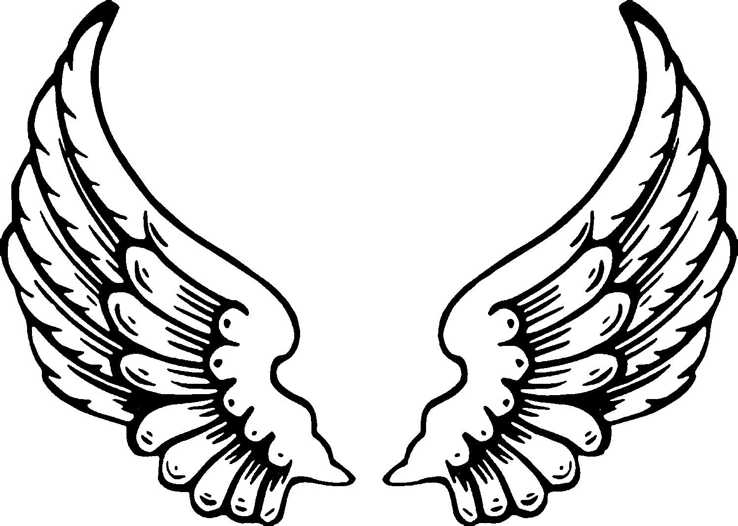 Free Printable Angel Coloring Pages For Kids   Food   Angel Wings - Free Printable Pictures Of Angels