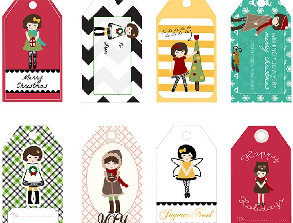 Free Printable Angel Gift Tags   Free Printable - Free Printable Angel Gift Tags