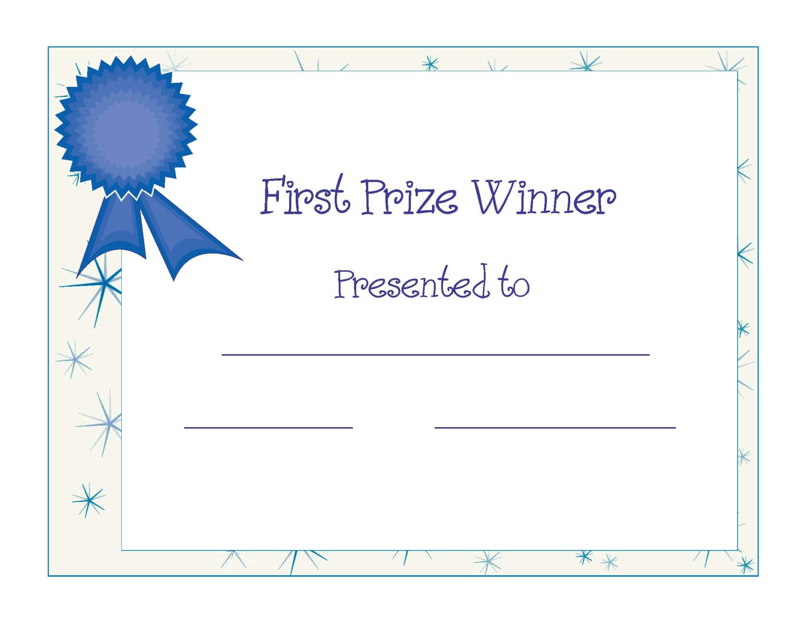 Free Printable Award Certificate Template | Free Printable First - Free Printable Best Daughter Certificate