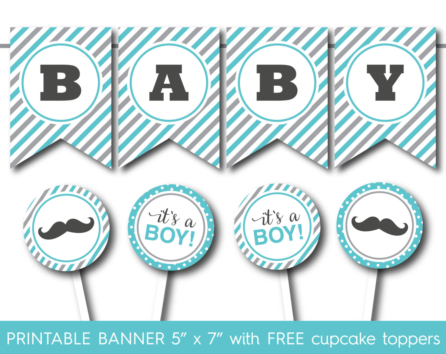 Free Printable Baby Shower Banner Letters - Baby Shower Ideas - Free Printable Baby Shower Banner Letters