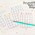 Free Printable Baby Shower Bingo Cards   Project Nursery   Baby Bingo Free Printable