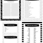 Free Printable Baby Shower Games   5 Games (In 3 Colors!) | Lil' Luna   Free Printable Baby Shower Games