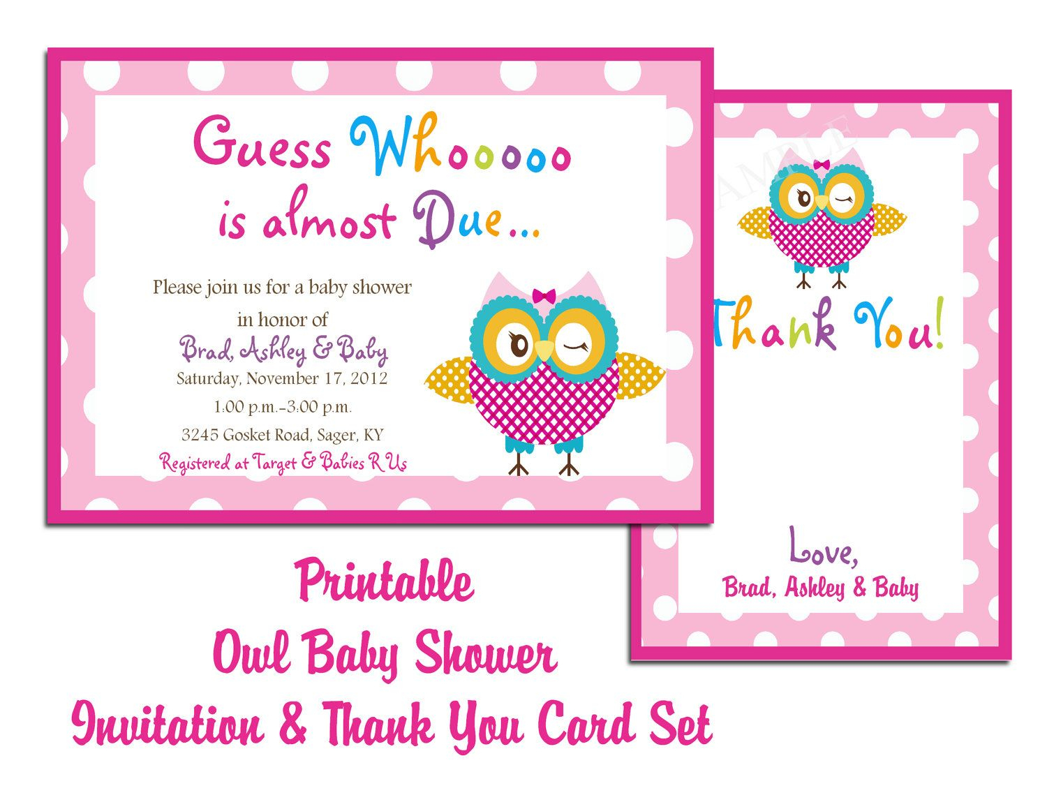 Free Printable Baby Shower Invitations For Girl - Baby Ideas | Baby - Free Printable Baby Shower Cards Templates