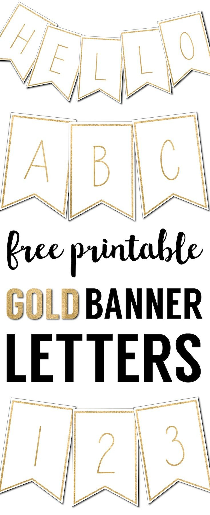 Free Printable Banner Letters Templates   The Wedding Stuff - Free Printable Wedding Banner Letters