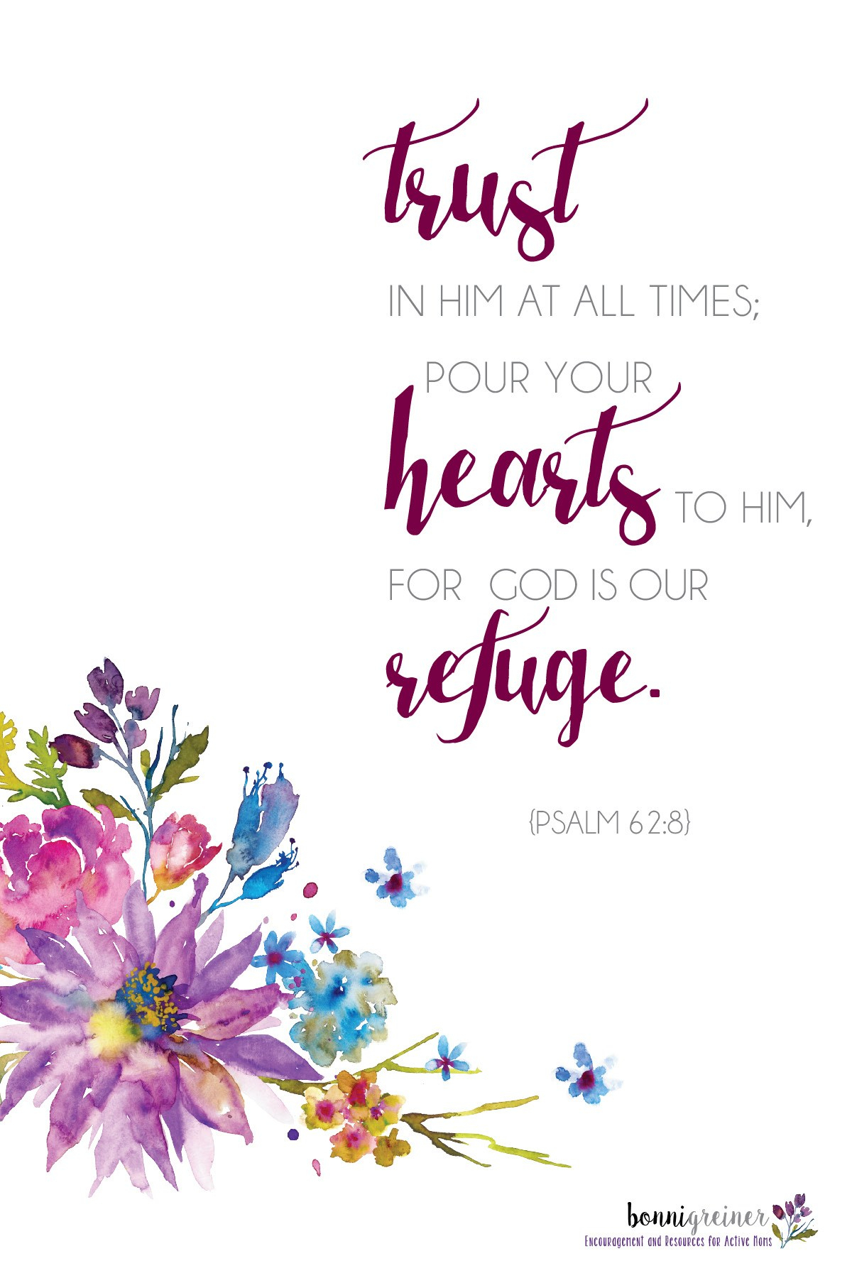 Free Printable Bible Verses And Sayings | Momexample - Free Printable Inspirational Bible Verses