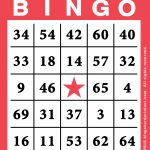 Free Printable Bingo Card Template   Bingocardprintout   Printable Bingo Template Free