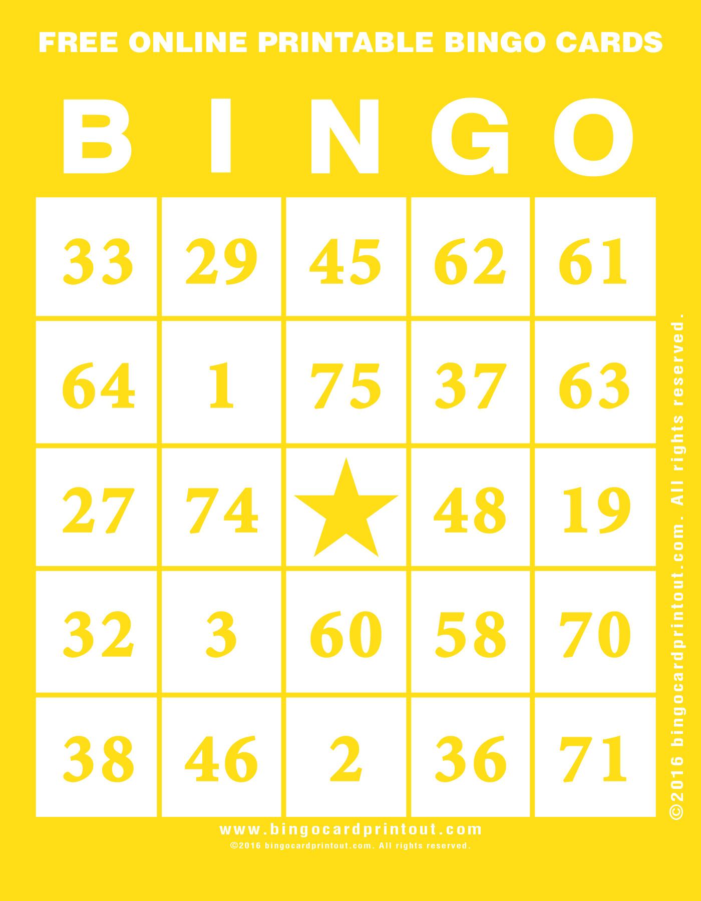 Free Printable Bingo Cards Random Numbers | Download Them Or Print - Free Printable Bingo Cards Random Numbers