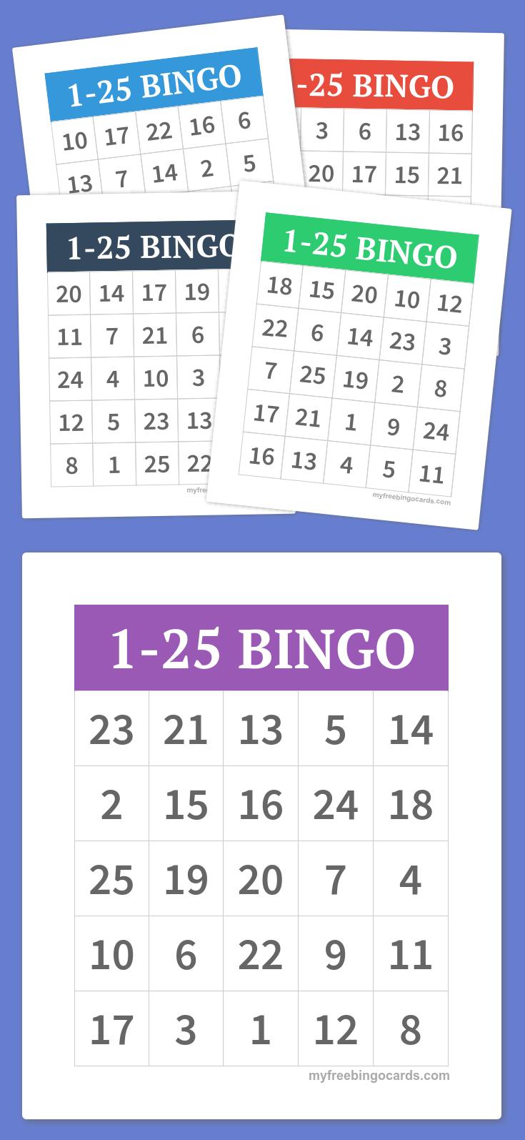 Free Printable Bingo Cards | Teacher, Teacher! | Bingo Cards, Free - Free Printable Bingo Games