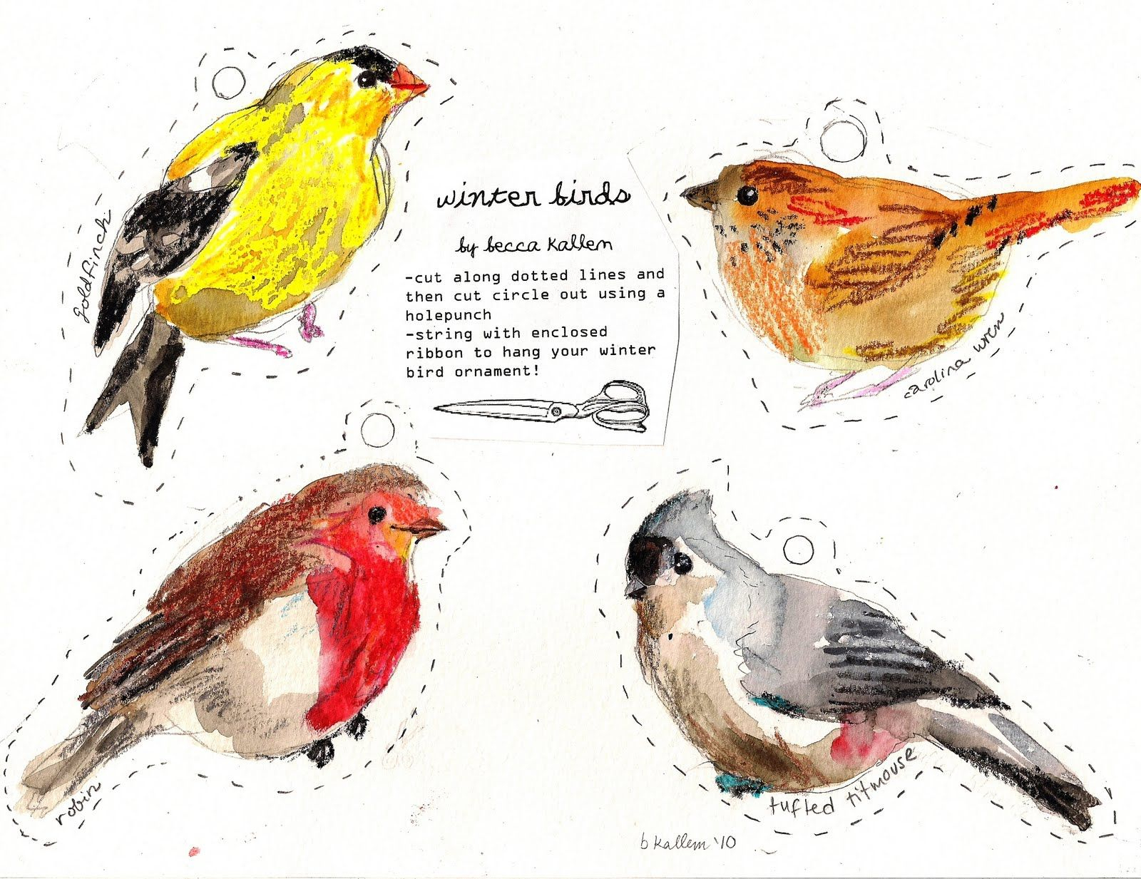 Free Printable Bird Git Tags   Rebecca's Misc.   Printable   Pinterest - Free Printable Images Of Birds