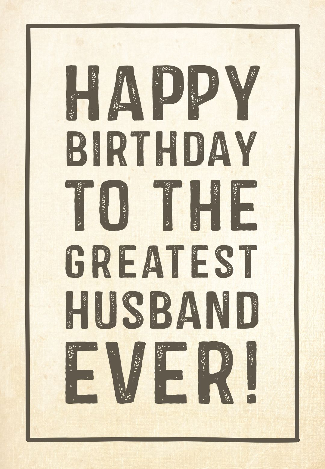 Free Printable Birthday Card - Greatest Husband   Greetings Island - Free Printable Birthday Cards For Husband