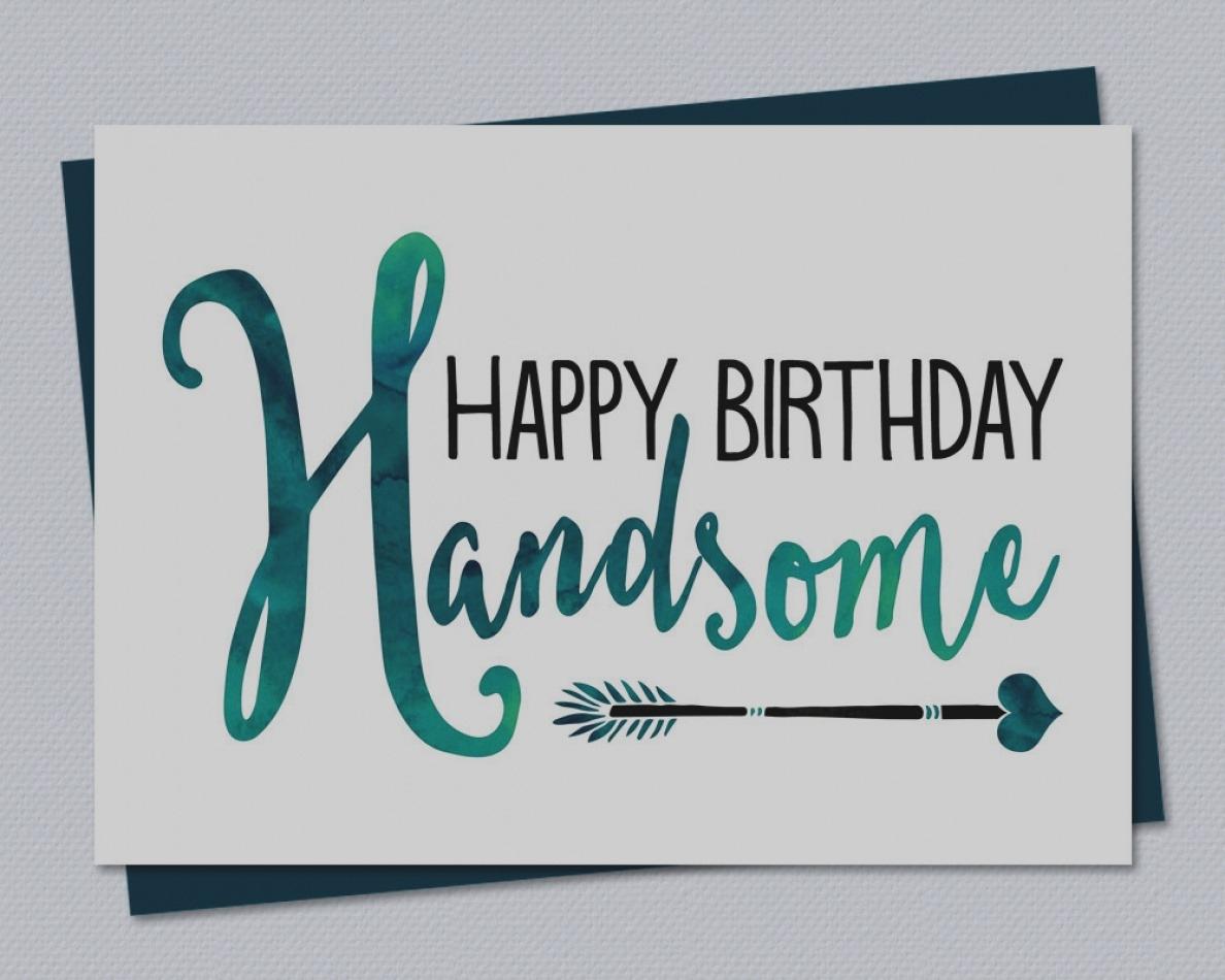 Free Printable Birthday Cards For Husband   Cardfssn - Free Printable Birthday Cards For Husband