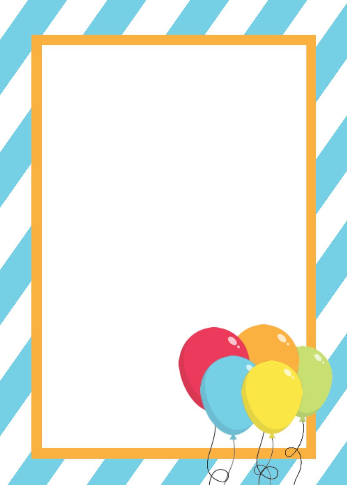 Free Printable Birthday Invitation Templates | Birthday Ideas And - Free Printable Birthday Invitation Templates